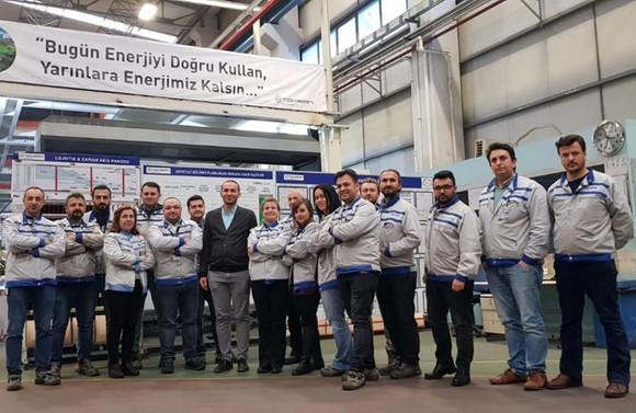Toksan 'enerji yönetim sistemi belgesi' aldı