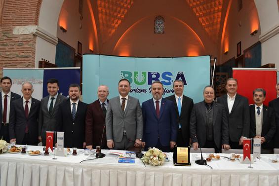Bursa turizminde hedef Avrupalı turist