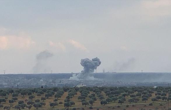 TSK, Neyrab askeri havaalanını vurdu