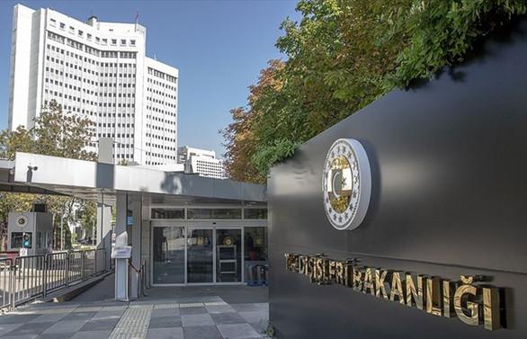 Yunanistan'ın Büyükelçisi, Dışişleri Bakanlığı'na çağrıldı