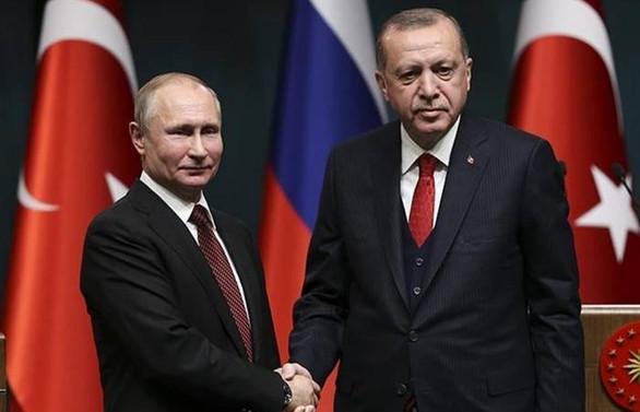 Erdoğan ve Putin İdlib meselesini görüştü