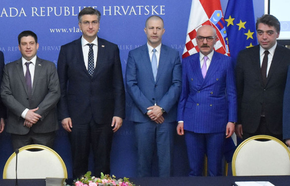 Orta Avrupa'yı Adriyatik'e Cengiz İnşaat bağlayacak