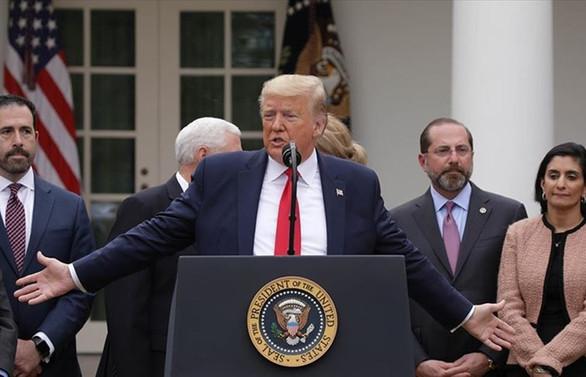 ABD Başkanı Trump'tan ekonomide virüs tedbiri
