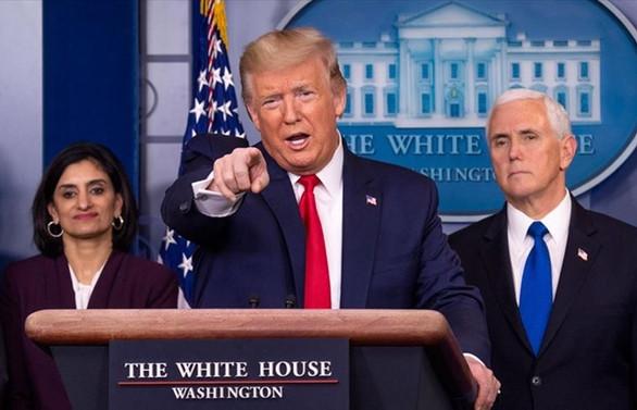 Trump: Savaş zamanı başkanı gibiyim
