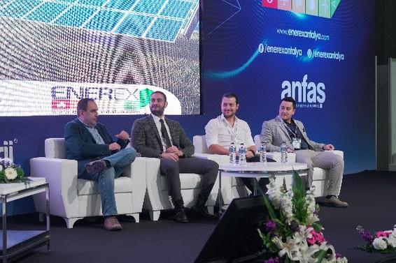 Güneş enerjisinin geleceği ENEREX Antalya'da tartışıldı