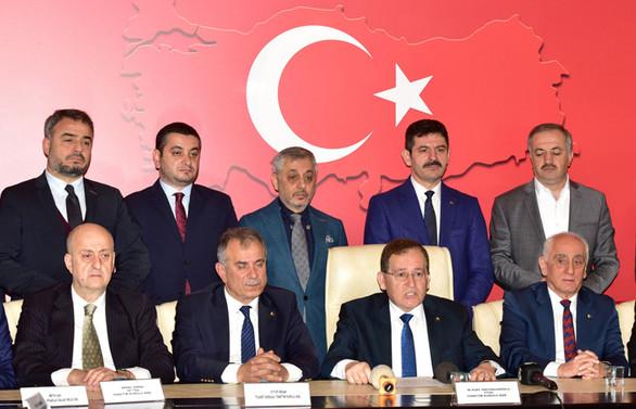 Trabzon'da STK'lardan Bahar Kalkanı Harekatı'na destek