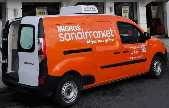 Migros, 60 yaş ve üstü müşterilerin siparişlerini ücretsiz götürüyor