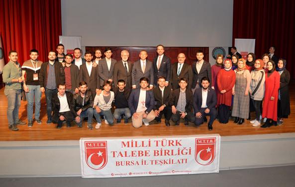 BUÜ'de 'Dünyada ve Türkiye'de Enerji Görünümü' konuşuldu