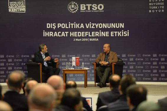 """""""Bursa'nın ulaştığı ihracat başarısını birçok ülke hayal bile edemiyor"""""""