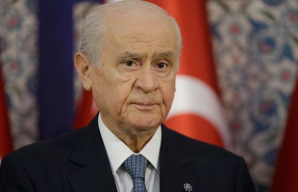 MHP Genel Başkanı Bahçeli 5 maaşını bağışladı