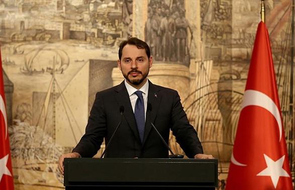 Bakan Albayrak: Ticaret ve finans sistemi için çıkış yollarını konuştuk