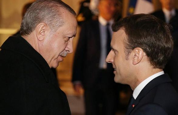 Erdoğan, Macron ile İdlib ve mültecileri görüştü