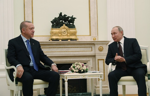 Erdoğan-Putin görüşmesi 2 buçuk saat sürdü
