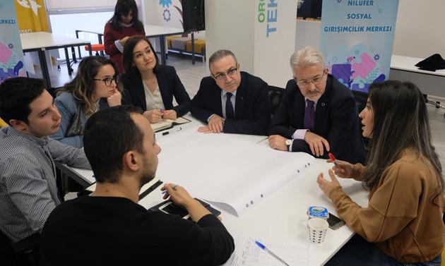 Nilüfer Sosyal Girişimcilik Merkezi hayat buluyor