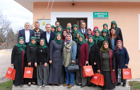 Reis'ten 8 Mart'a özel Bakliyat Köyü projesi