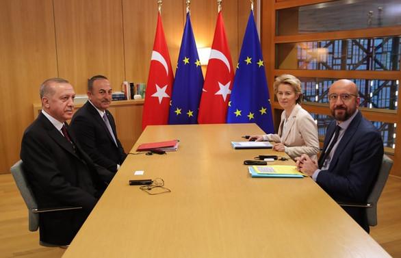 Brüksel'de Türkiye-AB liderler zirvesi