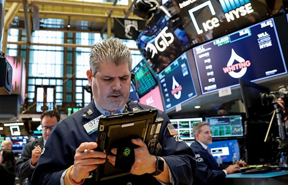 New York borsası rekor düşüşle kapandı