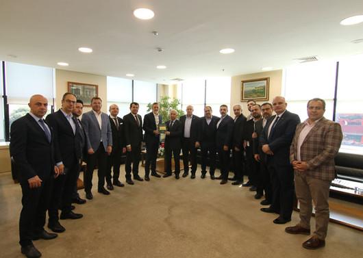 MÜSİAD Bursa yönetiminden BTSO'ya ziyaret