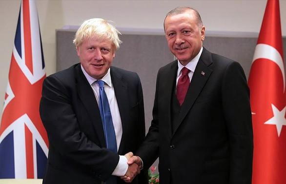 Cumhurbaşkanı Erdoğan'dan İngiltere lideri Johnson'a mektup