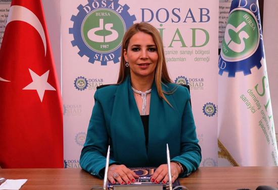 Nilüfer Çevikel, DOSABSİAD'ın ilk kadın başkanı…