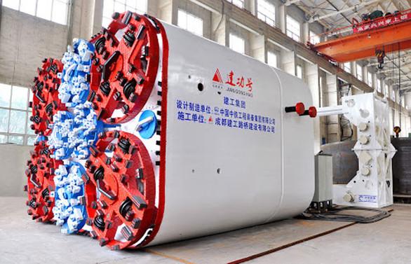 Çin, dünyanın en büyük tünel yapma makinesini üretti