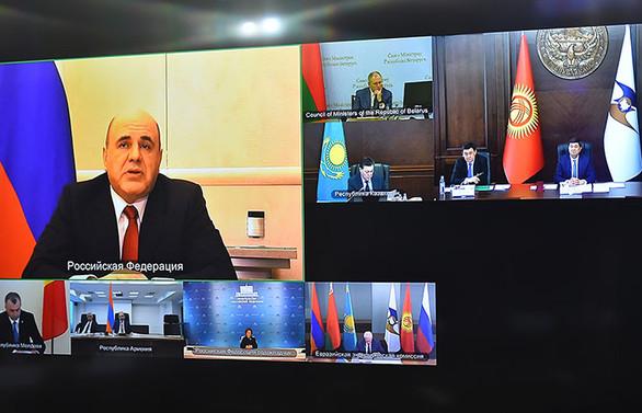 Avrasya Ekonomik Birliği'nden Covid-19'a karşı ortak mücadele mesajı