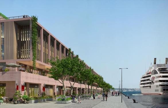 Galataport'ta inşaat faaliyetleri durduruldu