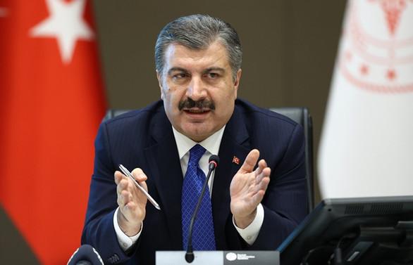 Türkiye'de koronavirüsten can kaybı bin 403'e, vaka sayısı 65 bin 111'e yükseldi