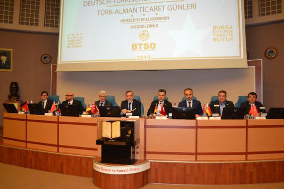 Türk - Alman Ticaret Günleri Bursa'da başladı