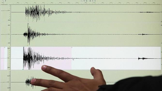 Akdeniz'de art arda iki deprem