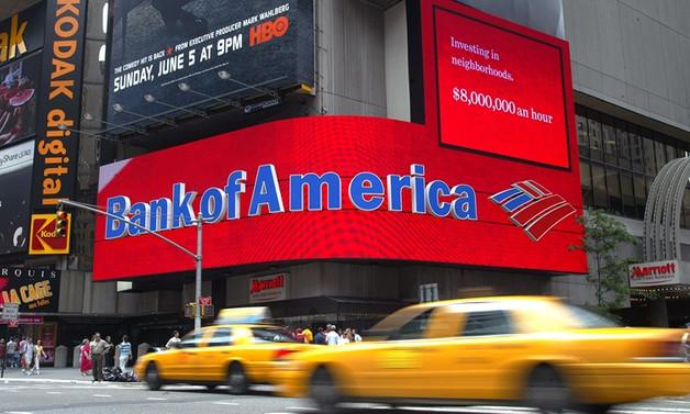 Bank of America'nın kârı yüzde 48,5 azaldı