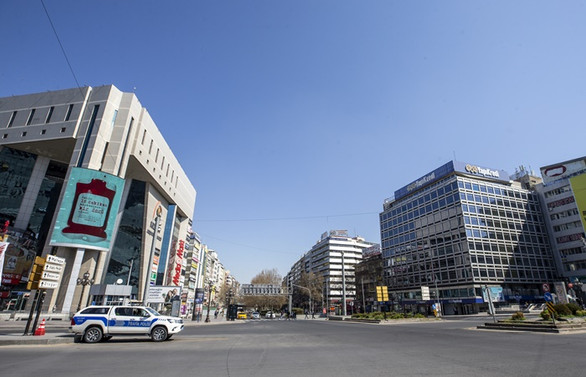 İçişleri Bakanlığından 81 il valiliğine sokağa çıkma yasağı ile ilgili genelge