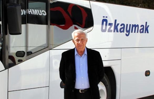 Otobüs taşımacılığının duayeni uğurlandı