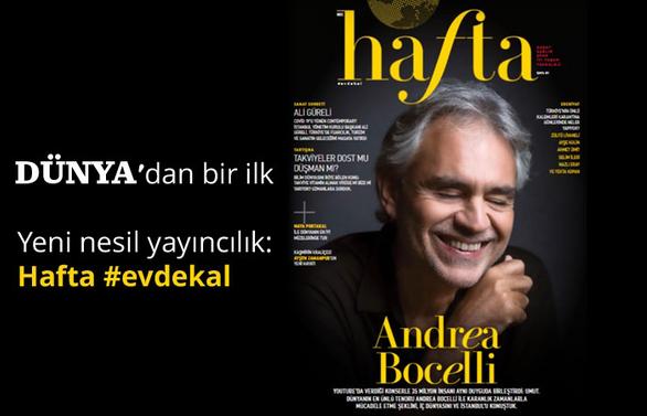 Yeni nesil yayıncılık: Hafta #evdekal