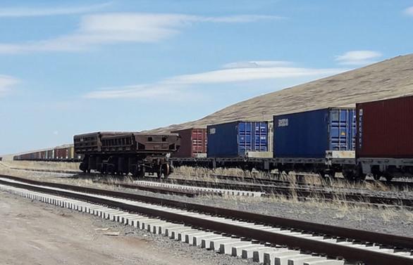 Dev ihracat treni Orta Asya'ya doğru yola çıktı