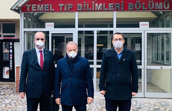 İKMİB, 100 bin litre dezenfektanın teslimatını yaptı