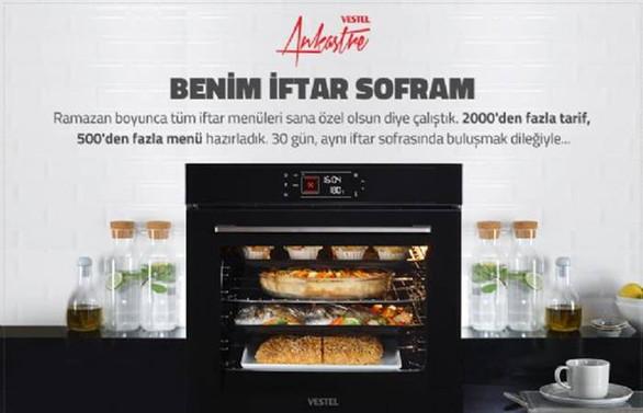 Vestel Ankastre ve Yemek.com'dan ramaza ayına özel proje