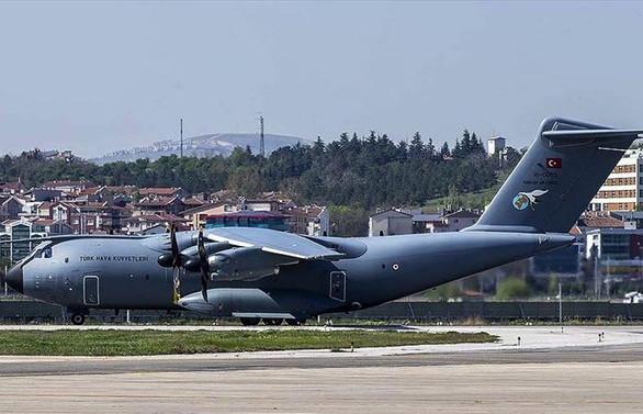 Türkiye'den ABD'ye tıbbi yardım taşıyan uçak havalandı