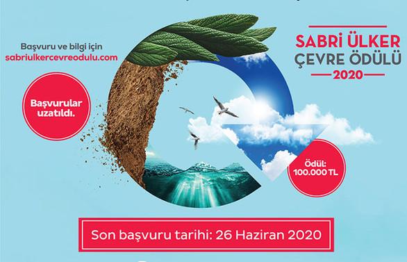 Sabri Ülker Çevre Ödülü'ne başvurular 26 Haziran'a uzatıldı