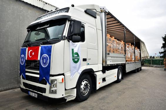 Bursa Büyükşehir'in yardım eli sınırları aştı
