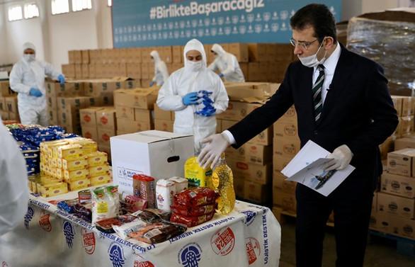 İBB'den 500 bin yardım kolisi