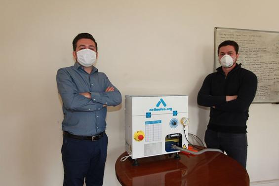 Bursalı mühendisler acil durum solunum cihazı üretti