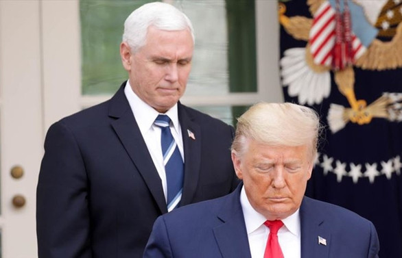 Trump ile aynı ortamda bulunacaklara Covid-19 testi şartı getirildi
