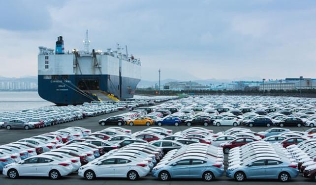Otomotiv ihracatında gerileme mart ayında da sürdü