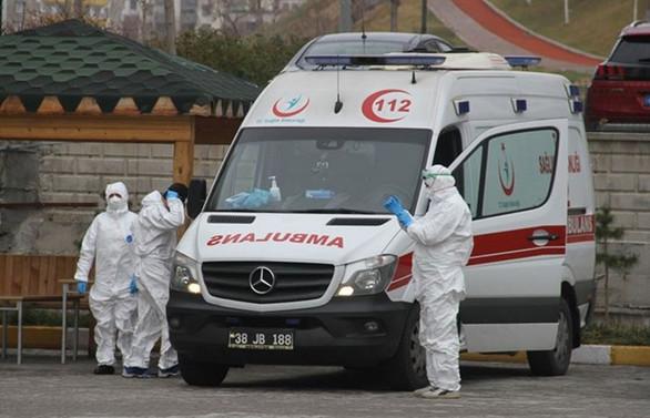 Türkiye'de can kaybı 574'e, vaka sayısı 27 bin 69'a yükseldi