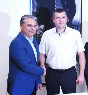 Ukraynalı iş insanından belediyeye destek