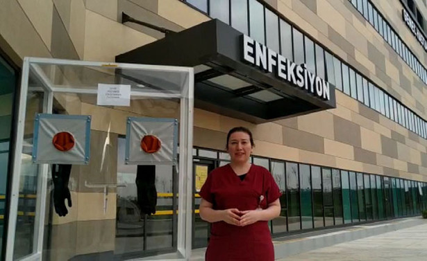Biyolojik örnek alma kabinleri hastanelerde kullanılmaya başlandı
