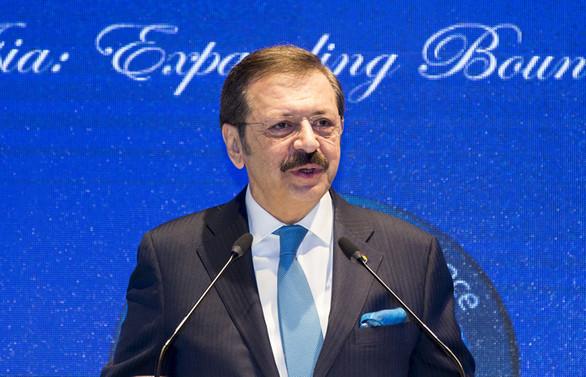 TOBB Başkanı Rifat Hisarcıklıoğlu'ndan 1 Mayıs mesajı