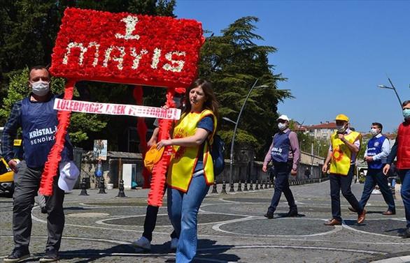 1 Mayıs yurt genelinde 184 etkinlikle kutlandı