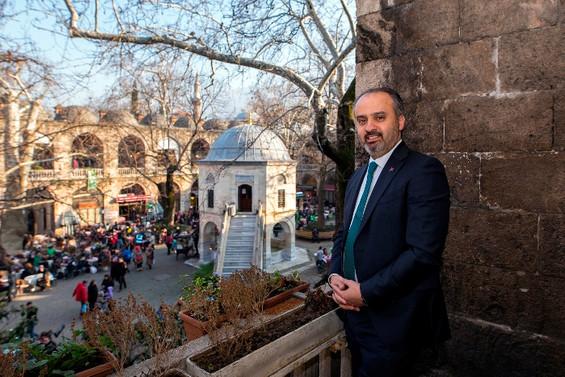 Bursa tarihine lazerli koruma kalkanı